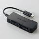 MRS-MB05BK [メモリリーダライタ スマホ・タブレット用 microBケーブル SD+microSD+MS対応 ブラック]