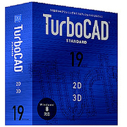 TurboCAD v19 Standard アカデミック 日本語版 [Windows]
