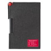 8864 [2face memo&pen  Back/Red]