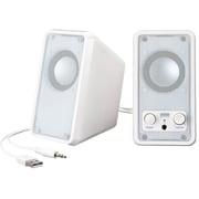 MM-SPL7UW [USB電源マルチメディアスピーカー(ホワイト)]