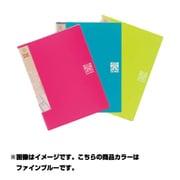 16607 [Just Motto シリーズ ポッケDEファイル JD-243 ファインブルー A4]