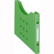 11762 [ボックスファイル<noile> ボックスファイル ノイル BF-12n グリーン A4判横型(スリムタイプ) ]