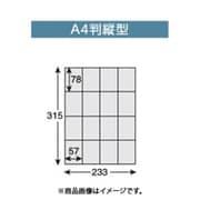 47532 [透明レターケース仕切板 パンフレットケース 仕切板 A4-2451 A4縦]