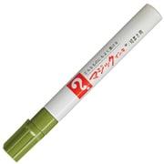 M500-T19 [マジックインキ No.500 1~1.5mm ウグイス]