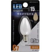 LDC1L-H-E12 11 [LED電球 E12口金 L色]