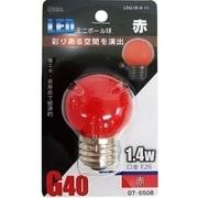 LDG1R-H 11 [LED電球 E26口金 赤色]