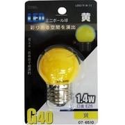 LDG1Y-H 11 [LED電球 E26口金 黄色]