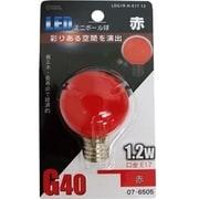 LDG1R-H-E17 13 [LED電球 E17口金 赤色]