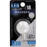 LDG1N-H-E12 12 [LED電球 E12口金 昼白色 15lm]