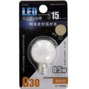 LDG1L-H-E12 12 [LED電球 E12口金 電球色 15lm]