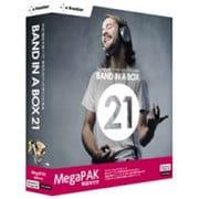 Band-in-a-Box 21 for Windows MegaPAK 解説本付 [Windows]