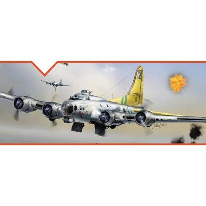 01E04 [1/32 B-17G フライングフォートレス]
