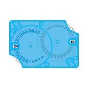 カードアクセサリコレクション GG19 Wカウンター ブルークリア