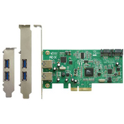 SATA3+USB3.0-PCIE2 [SATA3&USB3.0 コンボインターフェースボード]