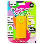 M56CMOR-01 [Michi 5600mAh USB出力:1ポート 最大:2.1A OR/GR]