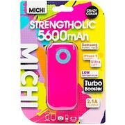 M56CMPI-01 [Michi 5600mAh USB出力:1ポート 最大:2.1A PK/BL]