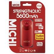 M56PI-01 [Michi 5600mAh USB出力:1ポート 最大:2.1A RD]