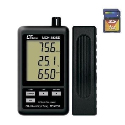 MCH-383SD [デジタル温湿度・CO2計]
