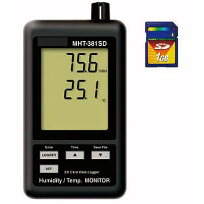 MHT-381SD [デジタル温湿度計]