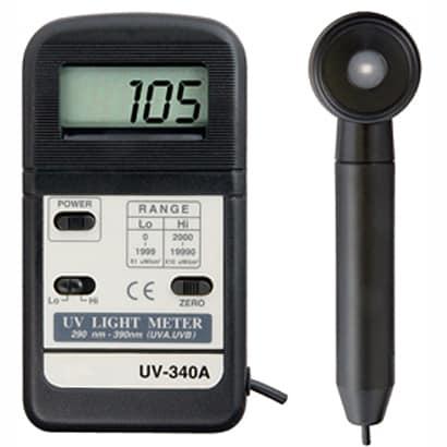 UV-340A [デジタル紫外線強度計]