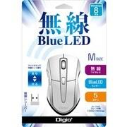 MUS-RKF97W [無線5ボタン BLUE LEDマウス ホワイト]