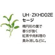 UH-ZKHD02E [Green Farm用 水耕栽培種子キット セージ]