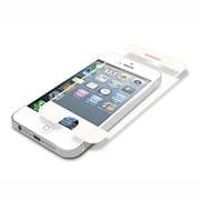 BSEFIP13WH [iPhone 5s/5用 スムースタッチイージーフィット ホワイト]