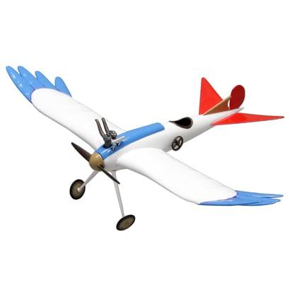 FG6 [風立ちぬ 1/48 二郎の鳥型飛行機 組み立て]