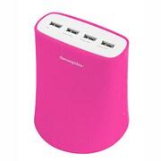 5.1A_USB4T_JP_1195 5.1A USB4ポート充電器 Pink