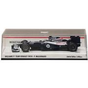 410120118 ウィリアムズ F1チーム ルノー FW34 P.マルドナード #18