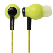 ZHP-100 Lime Yellow [カナルタイプイヤホン ライムイエロー]