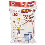 水切りゴミ袋 ごみシャット 細型排水口用 [30枚]