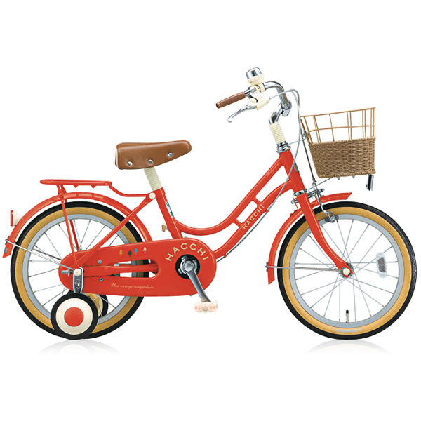 HC162 [幼児用自転車 HACCHI(ハッチ) 16型 レッド]