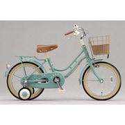 HC162 [幼児用自転車 HACCHI(ハッチ) 16型 グリーン]