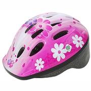 154-00042 [P-MV12 パルミーキッズヘルメット フラワー/ピンク]