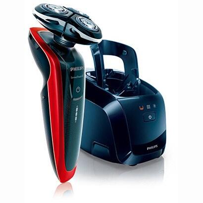 RQ1258CC [シェーバー センソタッチ3Dシリーズ メタリックレッド/ブラック 洗浄充電器付 海外対応可能 お風呂剃り可能]