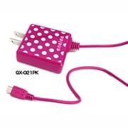QX-021PK [スマートフォン対応 AC充電器 ピンク]