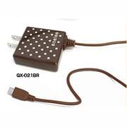 QX-021BR [スマートフォン対応 AC充電器 ブラウン]