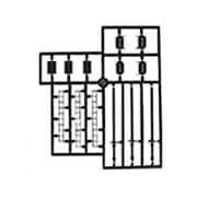 HA-7 [HOスケール 三灯式信号機キット 2組入り Nゲージ]