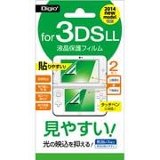 GAFLL-FLG [3DSLL用 反射防止フィルム]