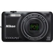 COOLPIX(クールピクス) S6600 BK [コンパクトデジタルカメラ スマートブラック]