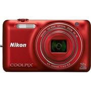 COOLPIX(クールピクス) S6600 RD [コンパクトデジタルカメラ ラズベリーレッド]