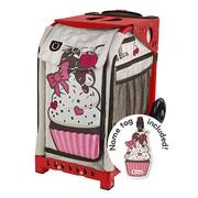ZUCA Sport Frame Red+Insert Bag Sprinklez with Tag [ZUCAスポーツ フレーム(レッド)+インサートバッグ(スプリンクルズ タグ付) 旅行日数目安:1~2泊 29L]