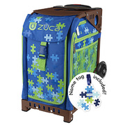 ZUCA Sport Frame Brown+Insert Bag Puzzle with Tag [ZUCAスポーツ フレーム(ブラウン)+インサートバッグ(パズル タグ付) 旅行日数目安:1~2泊 29L]