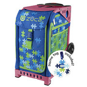 ZUCA Sport Frame HotPink+Insert Bag Puzzle with Tag [ZUCAスポーツ フレーム(ホットピンク)+インサートバッグ(パズル タグ付) 旅行日数目安:1~2泊 29L]