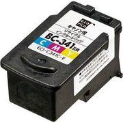 ECI-C341C-V [キヤノン BC-341 互換リサイクルインクカートリッジ カラー]