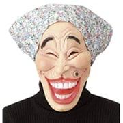 オバちゃんマスク(青)