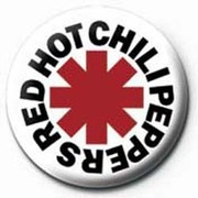 PB 25mmバッジ PB1164 RED HOT CHILI PEPPERS /logo [缶バッジ]