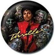 PB 25mmバッジ PB1723 MICHAEL JACKSON /Thriller [缶バッジ]