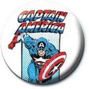 PB 25mmバッジ PB1915 MARVEL /Captain America - Retro